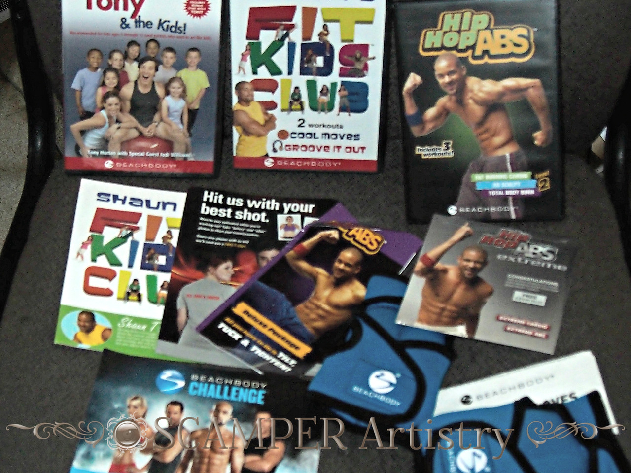 Hip Hop Abs came in the mail today!