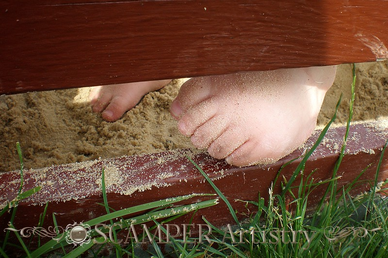 I Heart Faces - Foot Challenge - Tuesday, July 21, 2009 - 