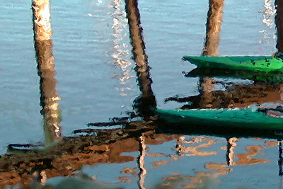Kayaks, Eagle Harbor