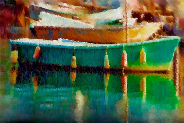 Rowboat, Eagle Harbor