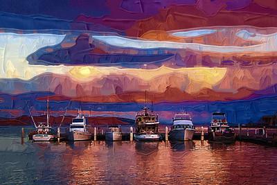 Hobart Harbor, Tasmania