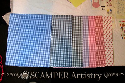 img_5999 variety of gingham paper retail 80 cents each (purchase all or many and receive 30% discount)  blue, navy, black, lavendar, pink, red, and cranberry ribbons