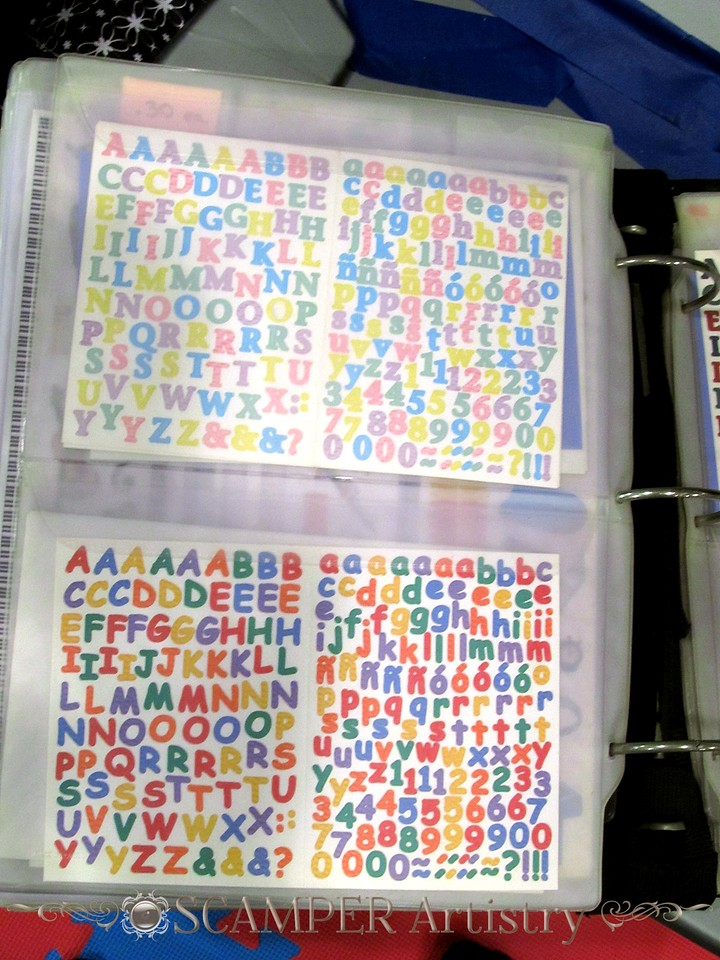 img_6021 - alphabet stickers $2.00 per sheet