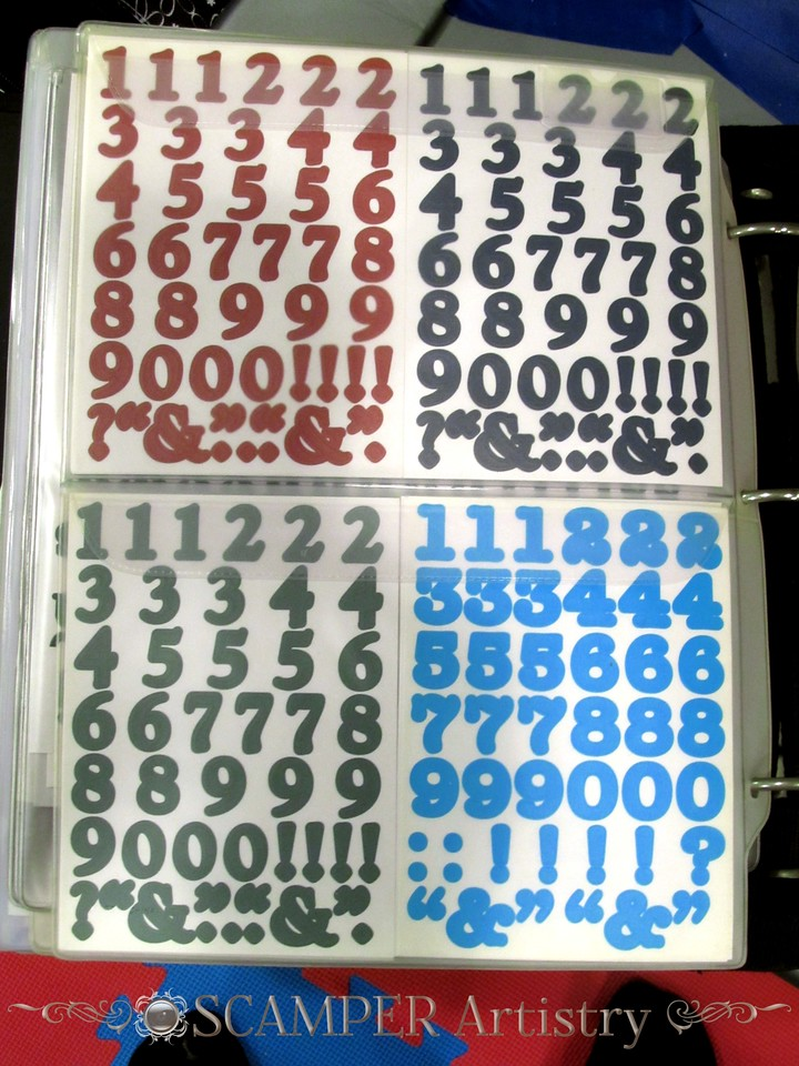 img_6025 - number stickers $1.00 per sheet
