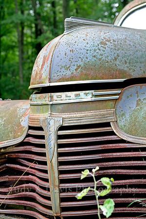 Dad's car, Montague, Michigan