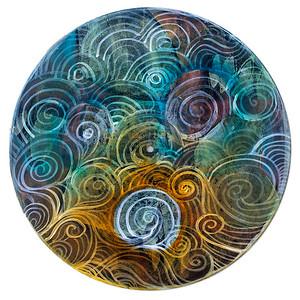 Sara Roizen Vinyl Mandala - Vol 2 Side 8