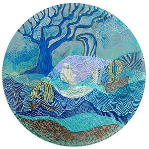 Sara Roizen Vinyl Mandala - Vol 3 Side 30