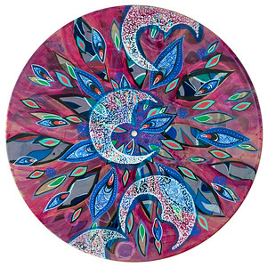 Sara Roizen Vinyl Mandala - Vol 3 Side 19