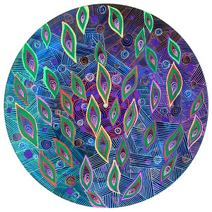 Sara Roizen Vinyl Mandala - Vol 3 Side 39