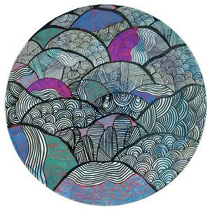 Sara Roizen Vinyl Mandala - Vol 3 Side 16