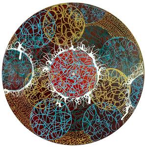 Sara Roizen Vinyl Mandala - Vol 3 Side 14