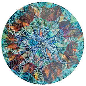 Sara Roizen Vinyl Mandala - Vol 3 Side 36