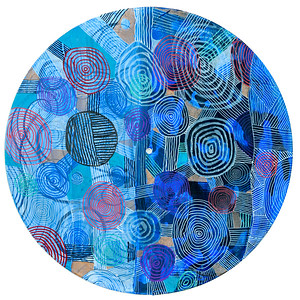 Sara Roizen Vinyl Mandala - Vol 3 Side 34
