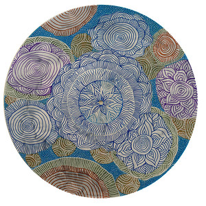 Sara Roizen Vinyl Mandala - Vol 4 Side 19