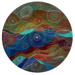 Sara Roizen Vinyl Mandala - Vol 4 Side 15
