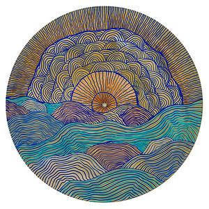 Sara Roizen Vinyl Mandala - Vol 4 Side 35