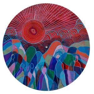 Sara Roizen Vinyl Mandala - Vol 5 Side 9