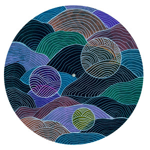 Sara Roizen Vinyl Mandala - Vol 5 Side 21