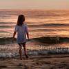 Sunset on Lake Michigan Beach, Whitehall, Michigan<br /> Judy A Davis Photography, Tucson, Arizona