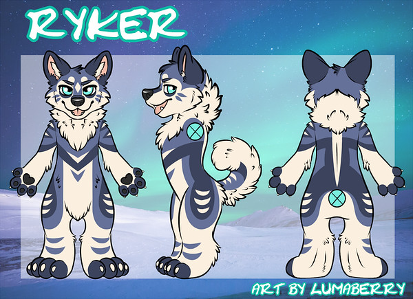 Ryker Fursuit Reference Sheet