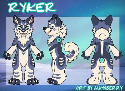 Ryker Fursuit Reference Sheet