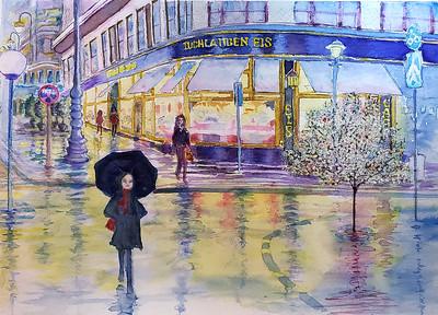 Rainy Vienna