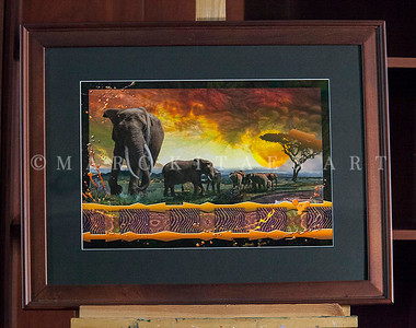 """THE BONDS THAT THAT TIE"" / Sale Price: $145.00 / Wood Frame 21.5"" in. X 27.5"" in."