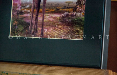 """""""AFRICAN HERITAGE"""" / Sale Price: $100.00 /  Metal Frame 16"""" in. X 20"""" in."""