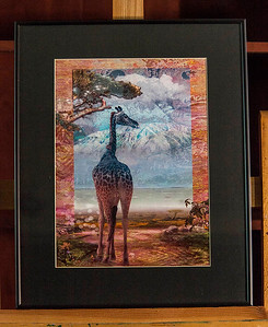 """AFRICAN HERITAGE"" / Sale Price: $95.00 /  Metal Frame 16"" in. X 20"" in."