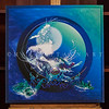 """""""BLUE MOON"""" / Sale Price: $160.00 / Canvas Gallery Wrap 26"""" in. X 26 in. / (#1 Limited Edition print)"""