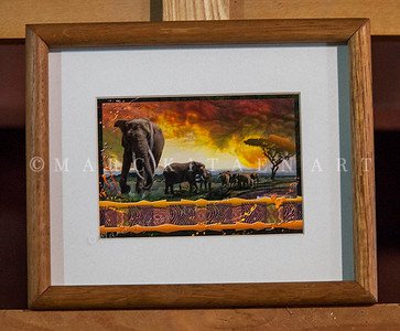 """THE BOND THAT TIES"" / Sale Price: $25.00 / Oak Frame 9 in. X 11"" in. by 1.5"" in. Thick"