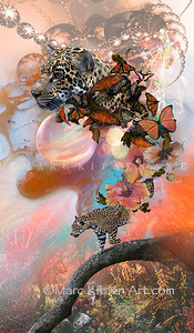 """LEOPARD OF SPLENDORA"" / Original Digital Image"