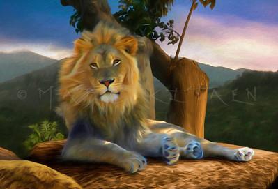 LION'S ROCKY THRONE