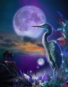 TRENDARA Great Blue Heron