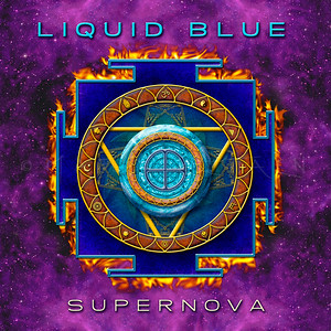 """SUPERNOVA""  LIQUID BLUE DEBUT MUSIC CD"