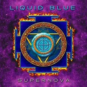 """SUPERNOVA""  LIQUID BLUE DEBUT MUSIC CD"