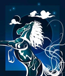 Horse Spirit BLACK HOLE SUN