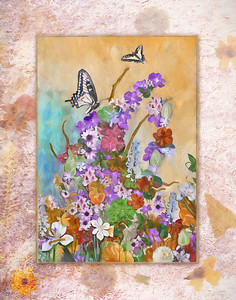 FLOWERS and BUTTERFLY BOUNTY