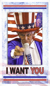 I WANT YOU UNCLE SAM