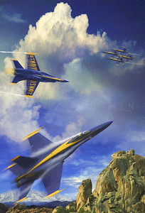 ROCKING THE AIRWAVES BLUE ANGELS