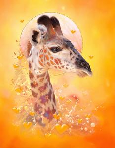 Giraffe Baby WHEN WE WERE YOUNG