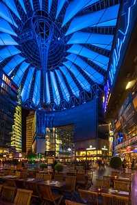 SONY center, Potsdammerplatz, Berlin