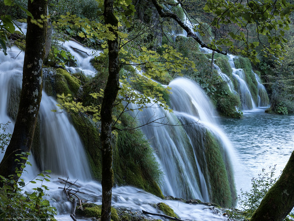 Waterfalls of Plitvits National Park, Croatia