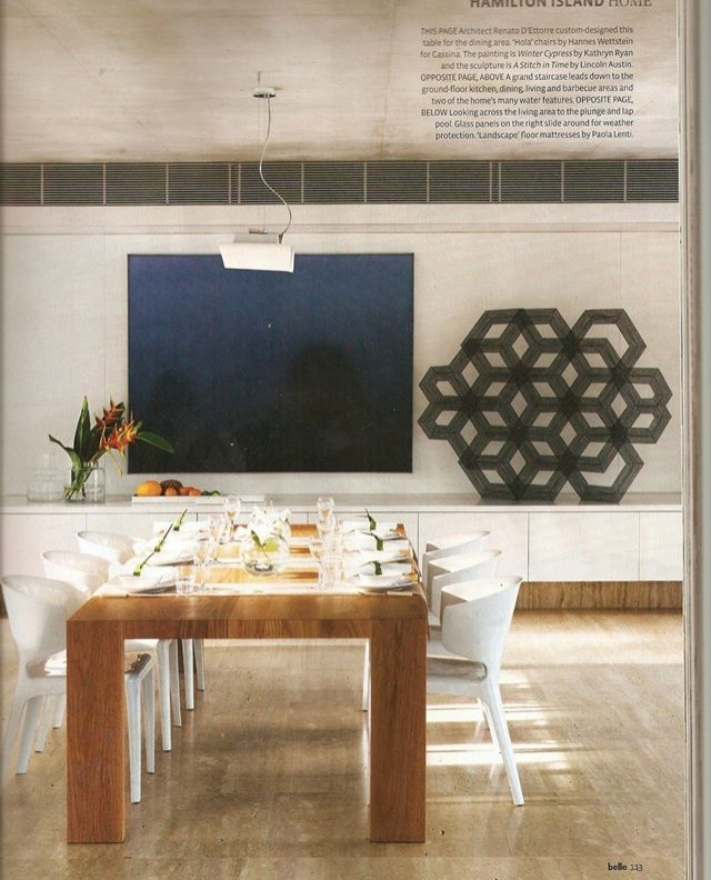 Private Collection Hamilton Island Aus, Winter Cypress oil on canvas 137x183cm 2001
