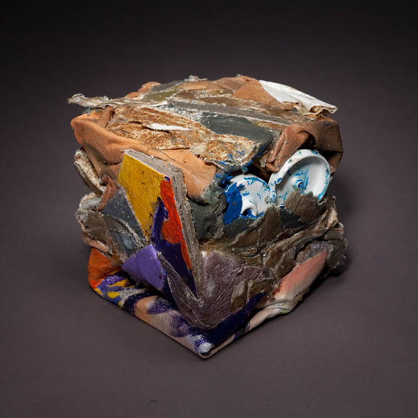 Compressed Art Cube #4