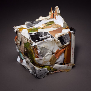 Compressed Art Cube #5