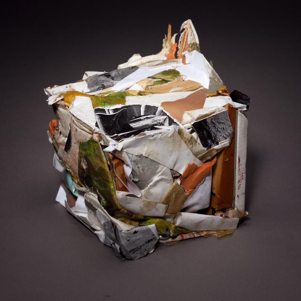 Compressed Art Cube #5