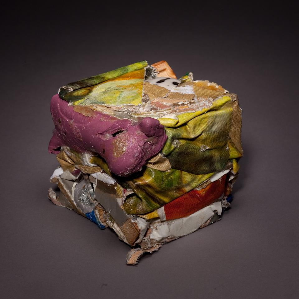 Compressed Art Cube #1