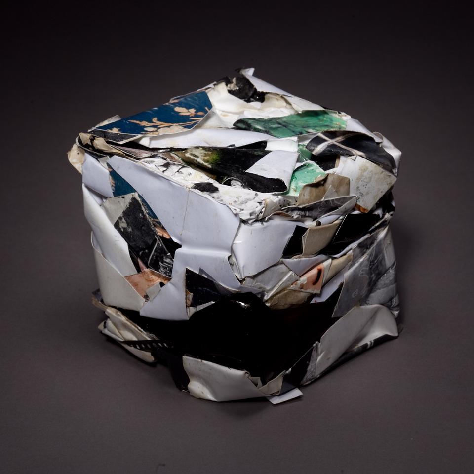 Compressed Art Cube #2
