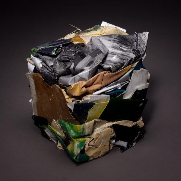 Compressed Art Cube #8